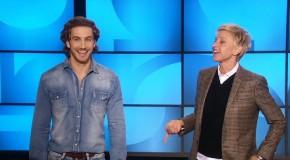 Eugenio Siller w The Ellen DeGeneres Show