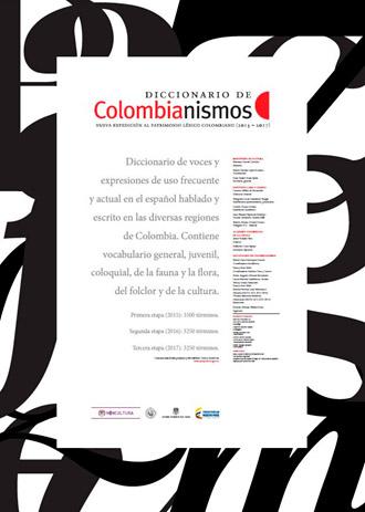 "Okładka słownika (fot. Instytut Cervantesa) Instytut Cervantesa Instytut Cervantesa: Wystawa kolumbianizmów połączona z projekcją filmu ""Los hongos"" colombianismos diccionario"