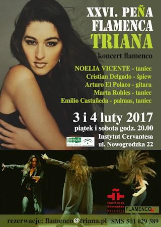 Noelia Vicente Instytut Cervantesa w Warszawie: Koncert flamenco z udziałem Noelii Vicente noelia flamenco
