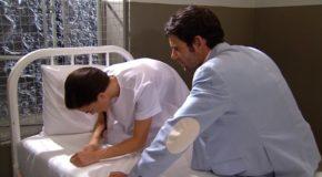 """""""Twoja na zawsze"""" – Odcinek 104: Stefano odwiedza Olvido w szpitalu"""