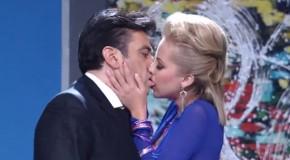 Jorge Salinas urażony pocałunkiem?