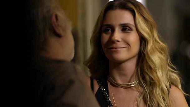 """Giovanna Antonelli (fot. Globo) A regra do jogo Po pierwszym odcinku: """"A regra do jogo"""" aregradojogo giovannaantonelli"""