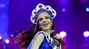 """Natalia Oreiro po raz trzeci w Rosji na """"Superdiskotece"""""""