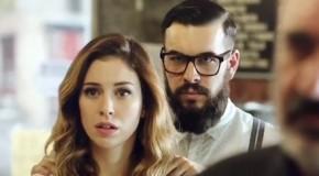 "Blanca Suárez i Mario Casas na planie filmu ""El bar"""
