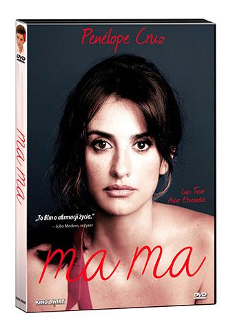 """Płyta DVD w sprzedaży od 21 kwietnia. Mama """"Mama"""" z Penélope Cruz od 21 kwietnia na DVD mama dvd"""