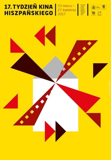 Tydzień Kina Hiszpańskiego 17. Tydzień Kina Hiszpańskiego już od marca! 17tydzienkinahiszpanskiego plakat