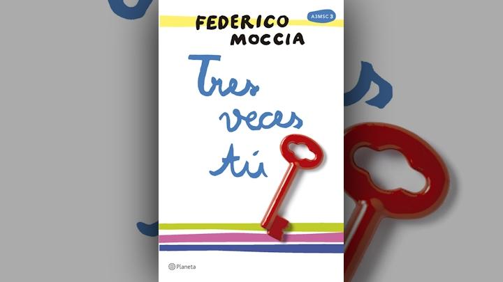 "Tres veces tú Federico Moccia wydaje ""Tres veces tú"" tresvecestu okladka"