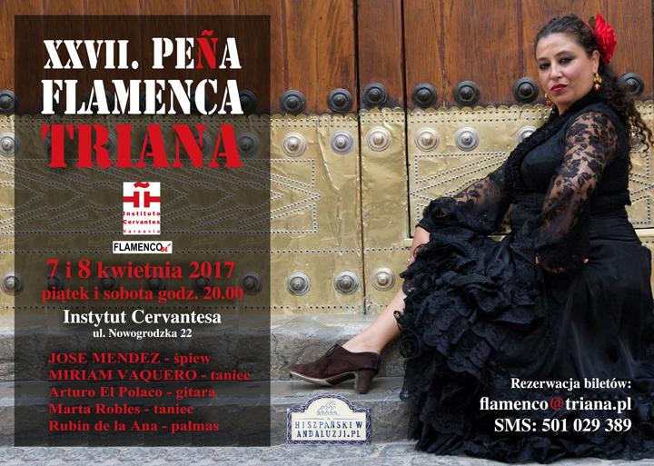 instytut cervantesa Instytut Cervantesa w Warszawie: José Méndez i Myriam Vaquero w tradycyjnym flamenco myriamvaquero ic poster