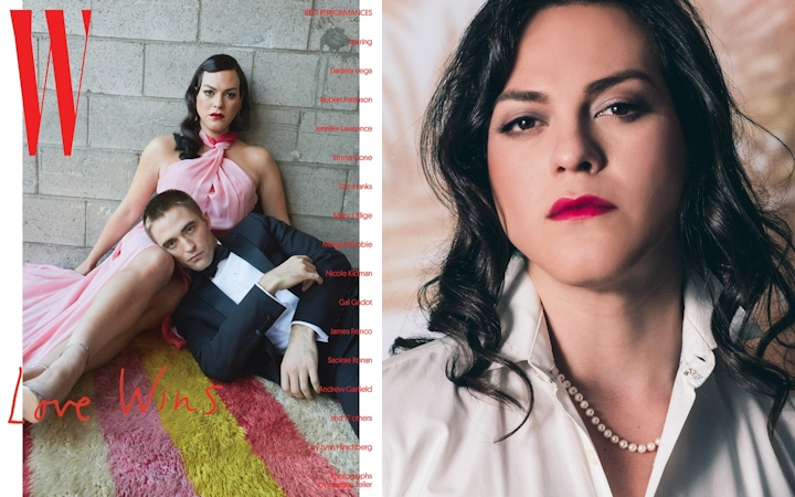 """Daniela Vega w «W Magazine» Fantastyczna kobieta """"Fantastyczna kobieta"""" w drodze po Złoty Glob danielavega wmagazine"""