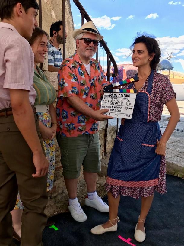 """ból i chwała Pedro Almodóvar kręci nowy film """"Ból i blask"""" almodovar penelopecruz dolorygloria"""