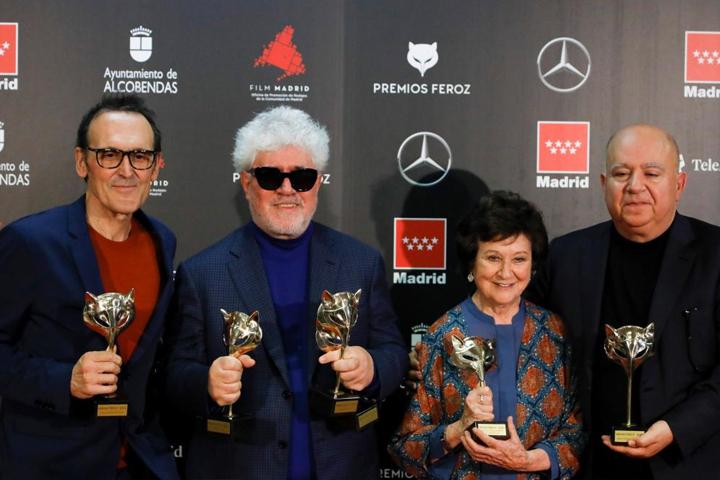 """nagrody feroz Nagrody Feroz 2020: """"Ból i blask"""" z sześcioma statuetkami boliblask feroz2020"""